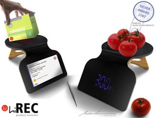 Illustration for article titled hiREC Chef's Companion Design Weighs, Scans Food
