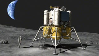 Illustration for article titled Así es el nuevo módulo que Rusia está desarrollando para llevar cosmonautas a la Luna