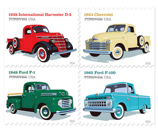 Illustration for article titled Truck Stamps