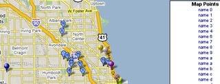 Map A List Puts Spreadsheet Addresses On Google Maps - Map a list of addresses
