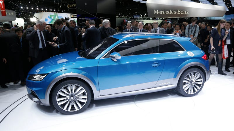 Illustration for article titled The Allroad Shooting Brake Concept Is (Almost) The 2015 Audi TT