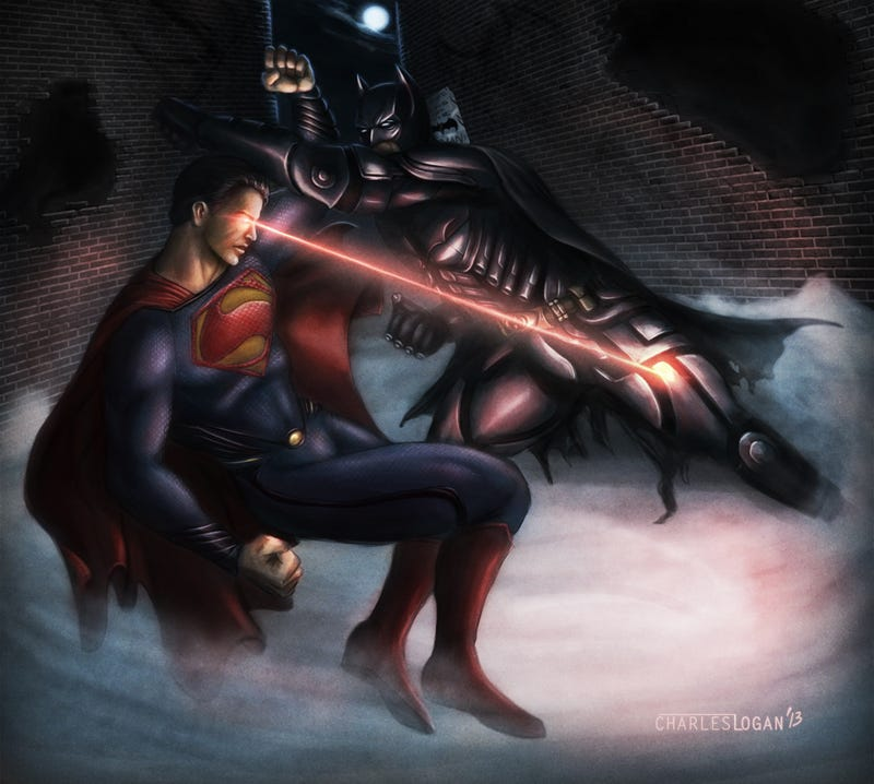 Illustration for article titled Read the screenplay for the scrapped 2002 Batman Vs. Superman movie