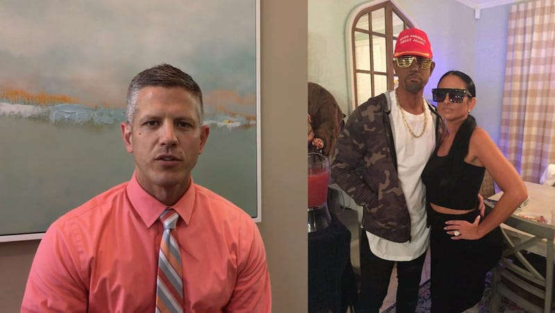 Illustration for article titled Blackface Is a Choice: Friends Praise SC Bank Executive For MAGA Kanye Costume