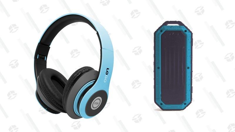 iJoy Bluetooth Headphones   $16   AmazoniJoy Bluetooth Speaker   $22   Amazon