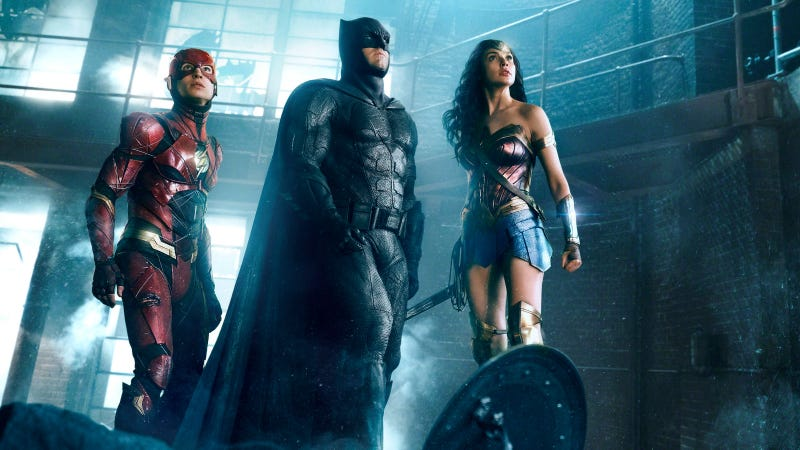 Illustration for article titled The Justice League Blu-ray is a bizarre exercise in hiding the truth about moviemaking