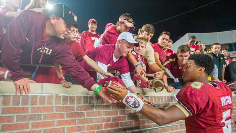 Illustration for article titled FSU QB and Alleged Rapist Jameis Winston Has a Sexy Fan, So, YOU KNOW.