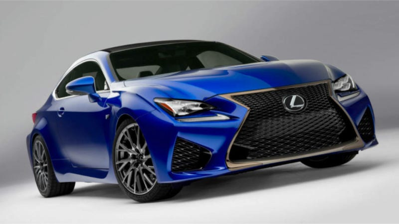 Illustration for article titled 2015 Lexus RC F: This Is It
