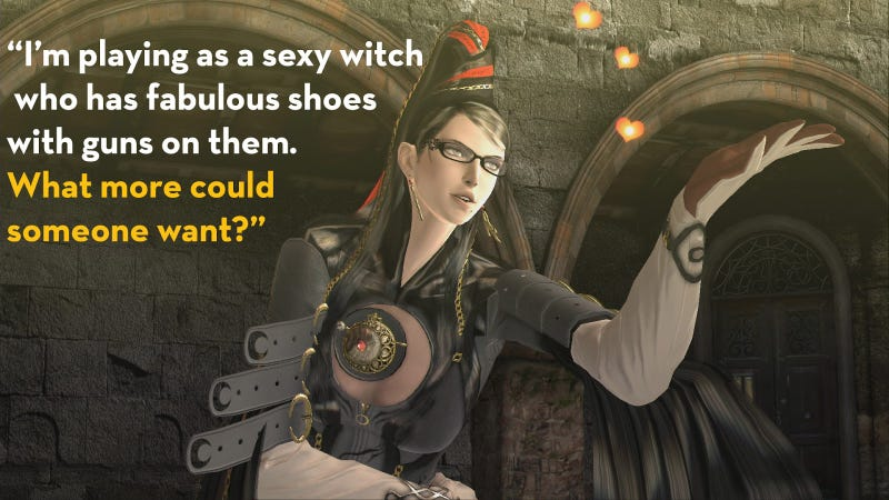 Illustration for article titled Bayonetta, As Told By Steam Reviews