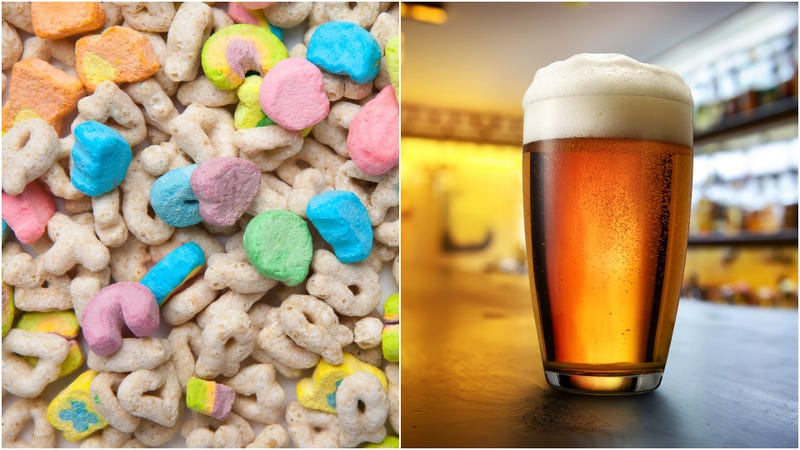 Illustration for article titled Hearts, stars, and IBUs: Brewery debuts Lucky Charms-inspired beer