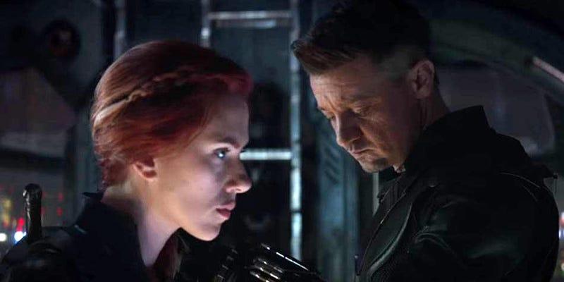 Black Widow en una escena de Avengers: Endgame