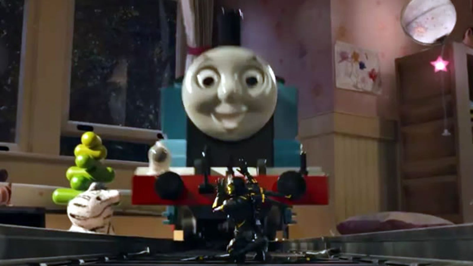 How Thomas The Tank Engine Appeared In Ant Man