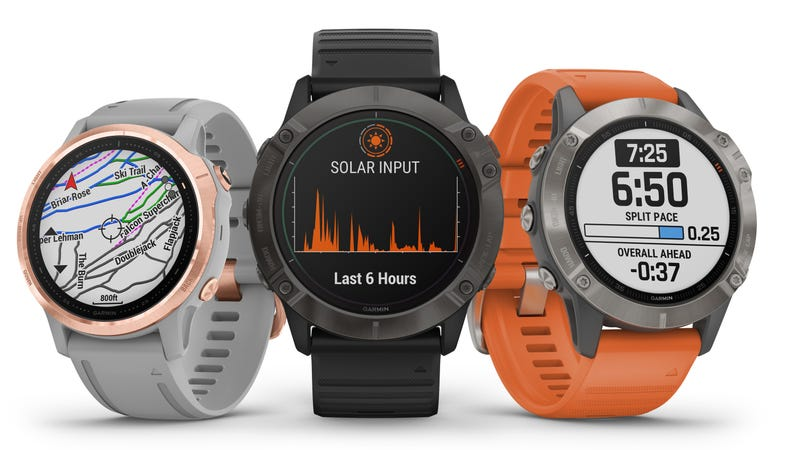 Illustration for article titled Garmin's New Solar-Powered Watch Is a Beast In More Ways Than One