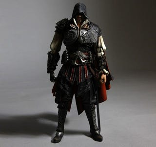 Illustration for article titled Assassin's Creed II Action Figures Emerge From The Crowd