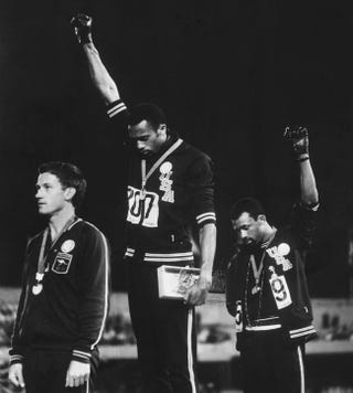 Illustration for article titled The Black Power Salute That Rocked The '68 Olympics