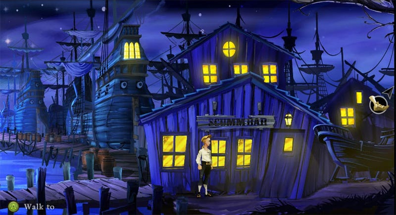 Illustration for article titled The Secret Of Monkey Island SE Micro-Review: Still Fights Like A Cow