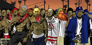 Illustration for article titled WoW Guilds Just Like...Street Gangs?