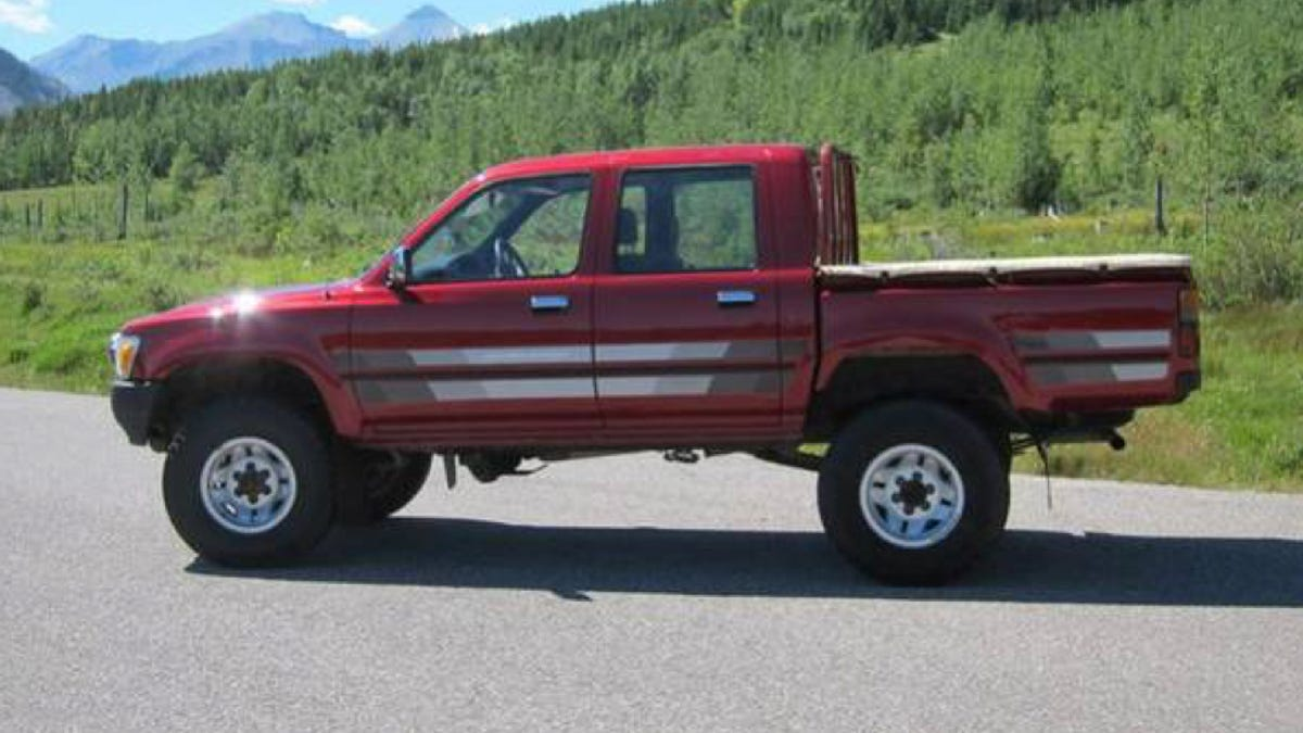 Toyota Diesel Truck >> Well Here S What A Genuine Toyota Hilux Diesel Sells For In