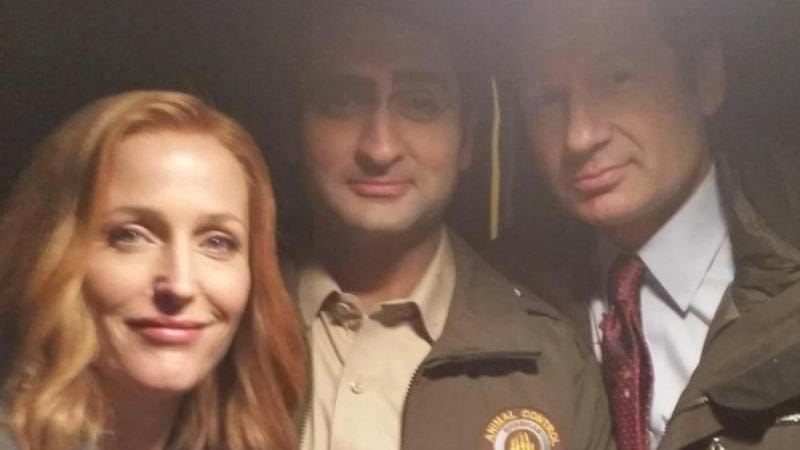 Illustration for article titled Kumail Nanjiani will be on the new X-Files, proving that dreams do come true