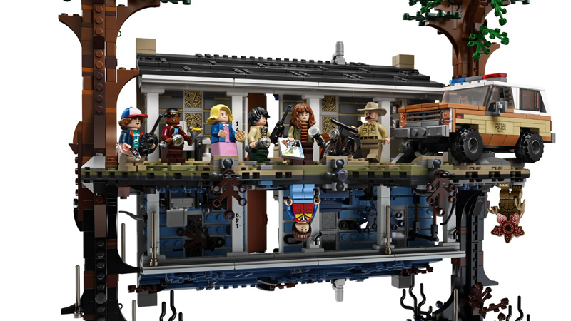 A Lego set as impressive as it is, well, strange.