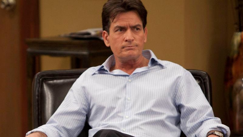 Illustration for article titled Charlie Sheen confirms he is HIV positive in Today interview