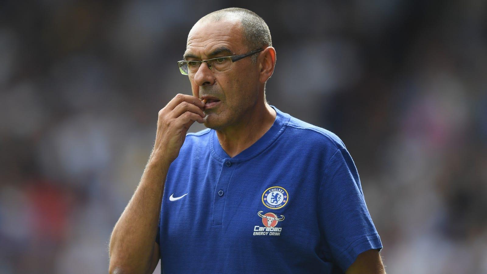 Maurizio Sarri: Chelsea Manager Maurizio Sarri Has A Weird Solution For