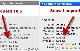 "Illustration for article titled Snow Leopard Reports Hard Drive Capacity ""Correctly"" (in Base 10)"