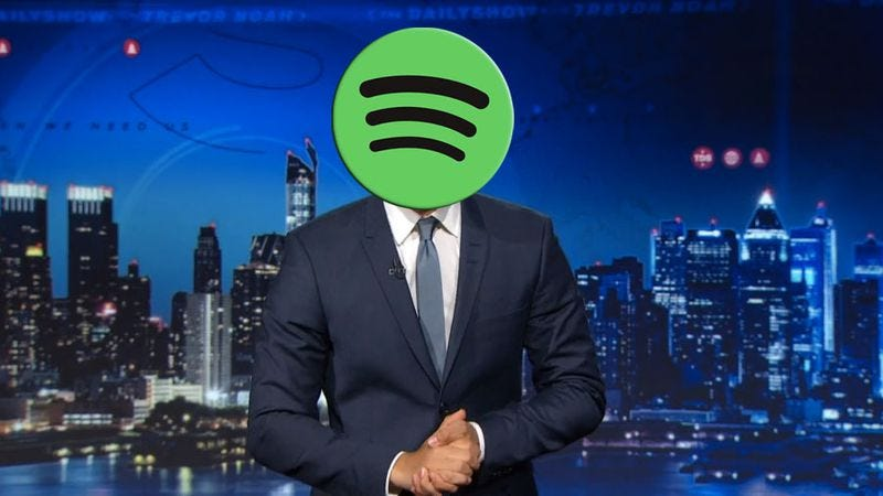 Illustration for article titled Spotify now offering yet another way to watch videos on your phone