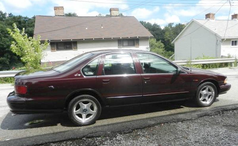 for 8 800 this 1995 chevy impala ss is a six shooter. Black Bedroom Furniture Sets. Home Design Ideas