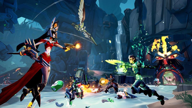Gearbox winds down work on Battleborn