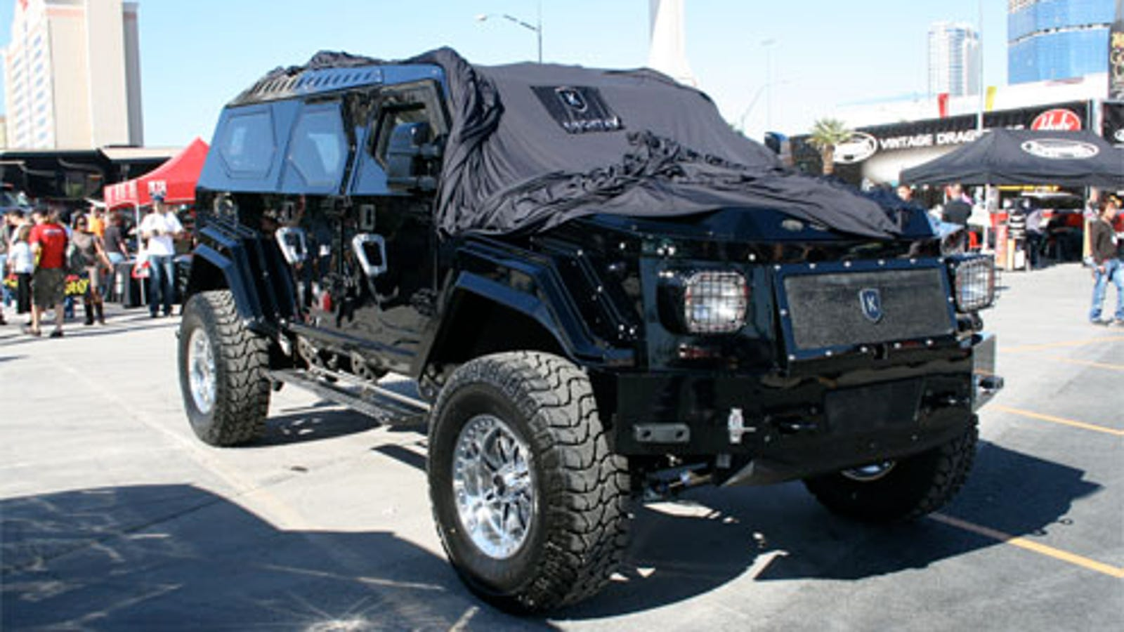 Knight Xv World S Biggest Fully Armored Bio Fuel Powered