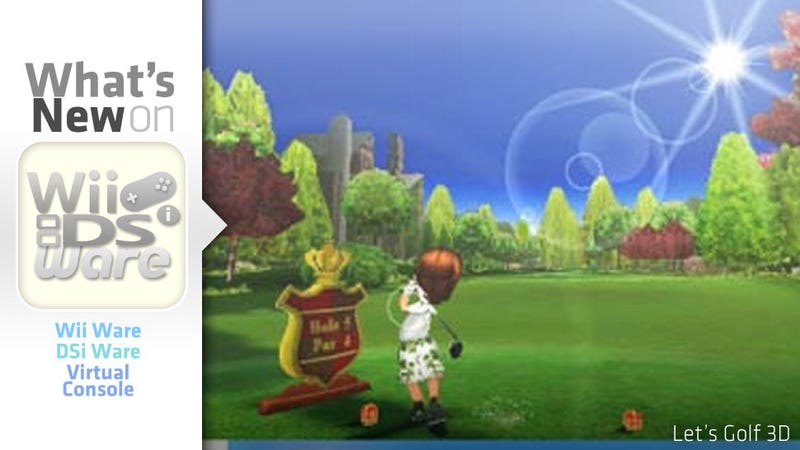 Illustration for article titled Now That We Feel Bad About Our Early 3DS Purchase, Let's Golf!