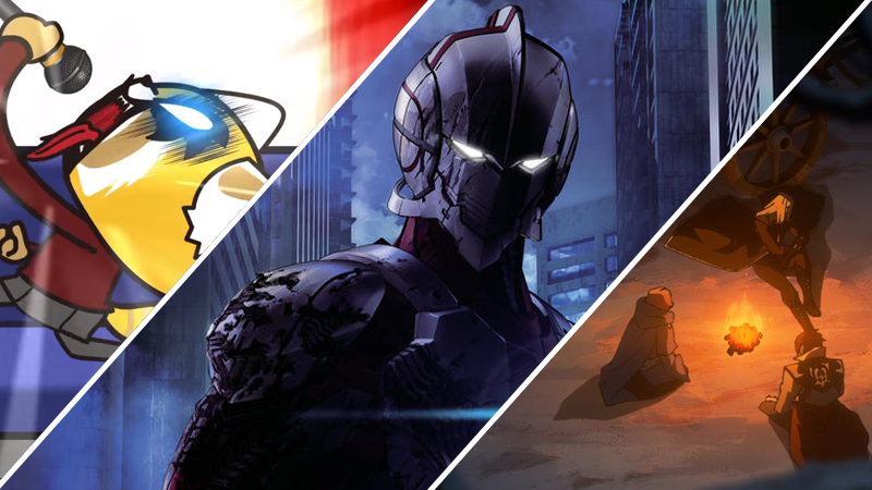 Ultraman, Retsuko, Alucard, Simon, and Sypha are making their way to Netflix in the next year!