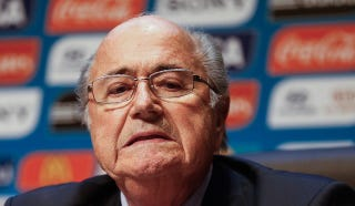 Illustration for article titled Sepp Blatter Says We're All Racist For Pointing Out FIFA's Corruption