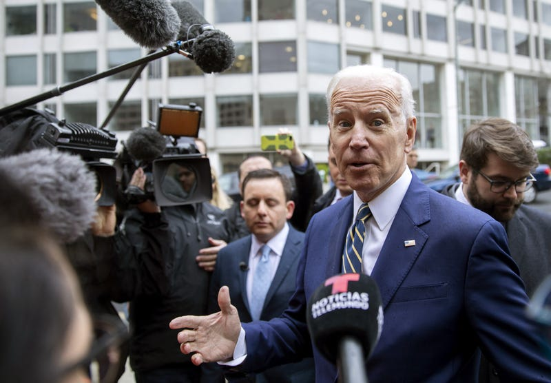 Illustration for article titled Oh, Joe: Biden Jokes About Personal Space Called Tone-Deaf
