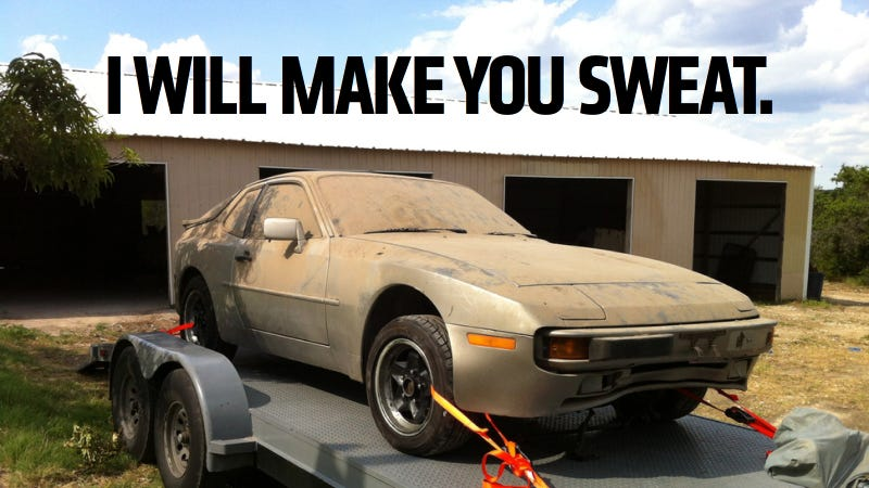 Illustration for article titled Screw CrossFit, Buy An Old Car If You Want To Get In Shape
