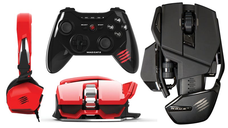 Illustration for article titled Mad Catz's Mobile Hardware is Just as Pretty as Its PC Peripherals