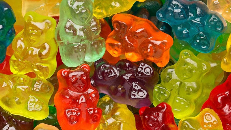 Albanese Candy 12 Flavor Gummi Bears 5 lb Bag | $11 | Amazon
