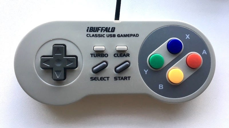 snes emulator xbox one controller support