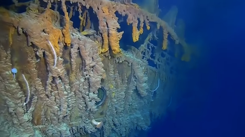 Gaze upon the first new footage of the Titanic in 14 years