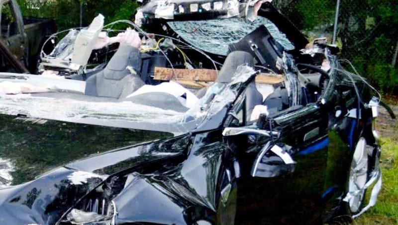Imagen: Florida Highway Patrol investigators/Ap