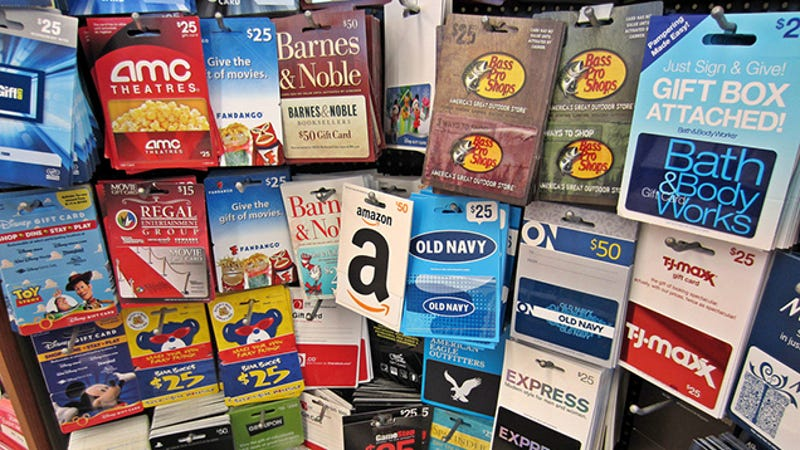 Give Your Unused, Unwanted Gift Cards to Charity