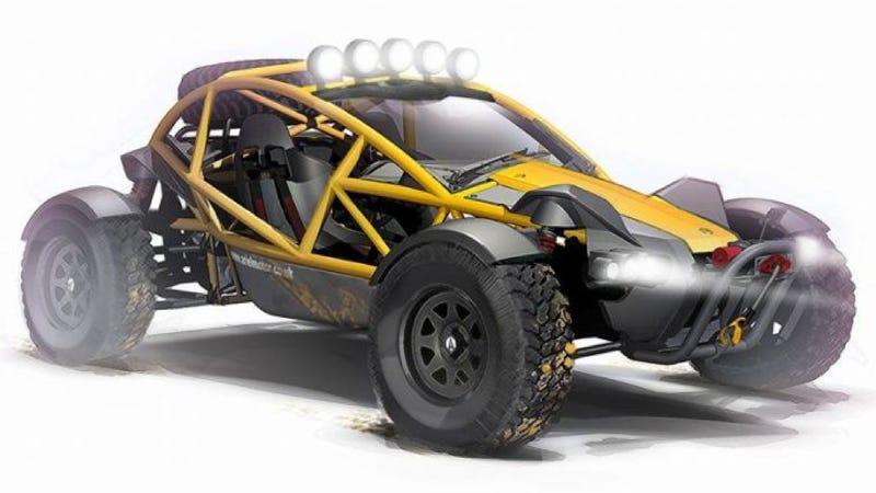 Illustration for article titled Ariel Nomad: Beast Off-Road Buggy With Superlight Sports Car DNA