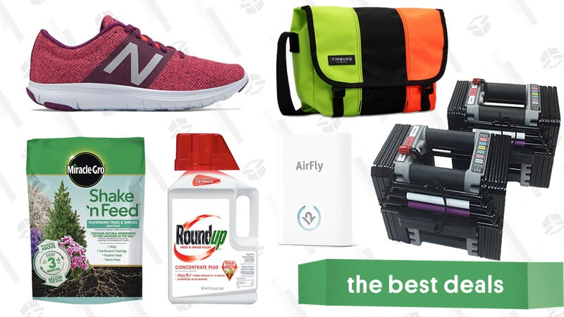 Illustration for article titled Saturday's Best Deals: Timbuk2, Lawn Care Essentials, Twelve South's AirFly, and More