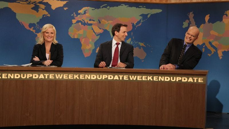 Illustration for article titled Saturday Night Live: SNL Weekend Update Thursday