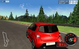 Illustration for article titled First Video Game Drive: Twingo Renault Sport