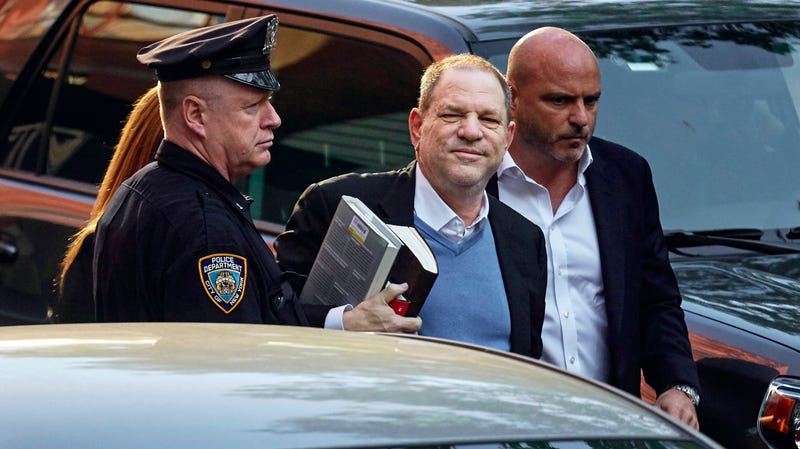 Illustration for article titled Harvey Weinstein Arrested on Charges of Rape, a Criminal Sex Act, and Sex Abuse