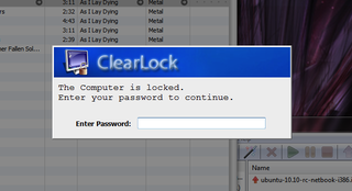 Illustration for article titled ClearLock Locks Your Windows Desktop Without Hiding It