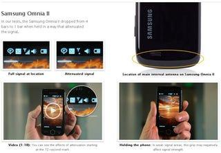 "Illustration for article titled Samsung Speaks Up Over Antennagate—""Reception Problems Have Not Happened"""