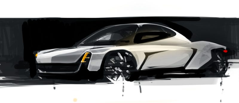 Illustration for article titled Porsche 914-- Model 3 competitor