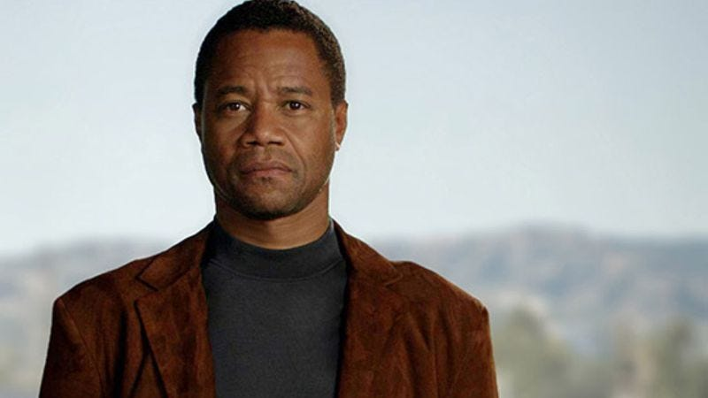 Cuba Gooding, Jr. as O.J. Simpson in American Crime Story